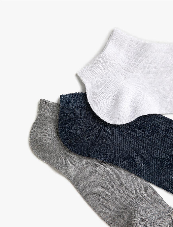 Men Basic Socks Set Cotton