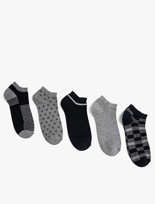 Erkek Desenli Çorap Seti Pamuklu
