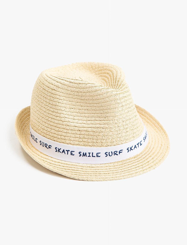 Fötr Şapka Erkek Çocuk Yazılı