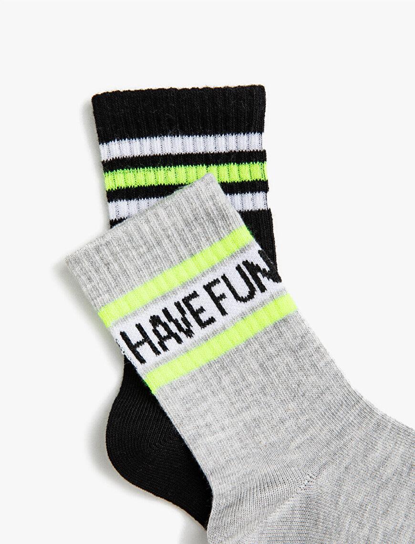 Boy Striped Socks Set Cotton