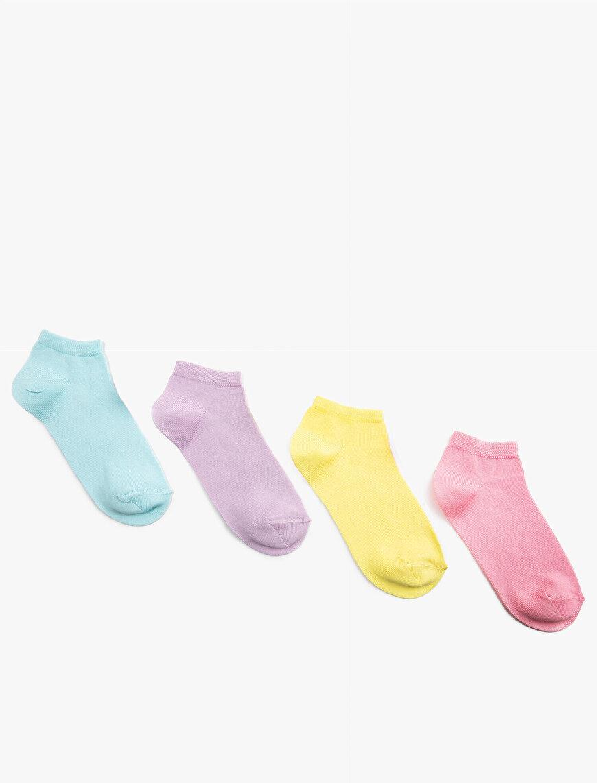 Kız Çocuk Basic Çorap Seti 4'lü