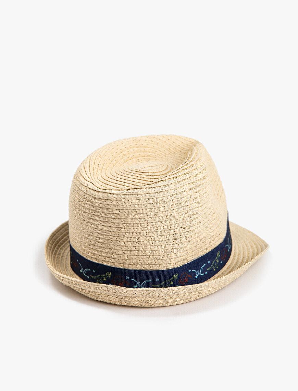 Erkek Çocuk Hasır Şapka