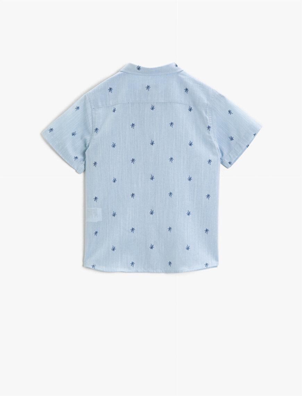 Desenli Gömlek Kısa Kollu