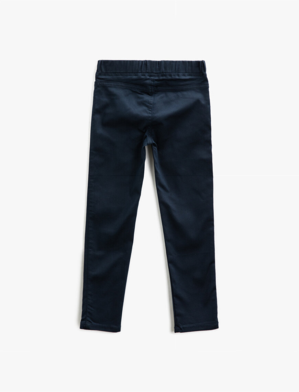 Beli Lastikli Pantolon Pamuklu Basic