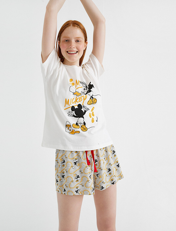 Mickey Mouse Licensed Pyjama Set Cotton
