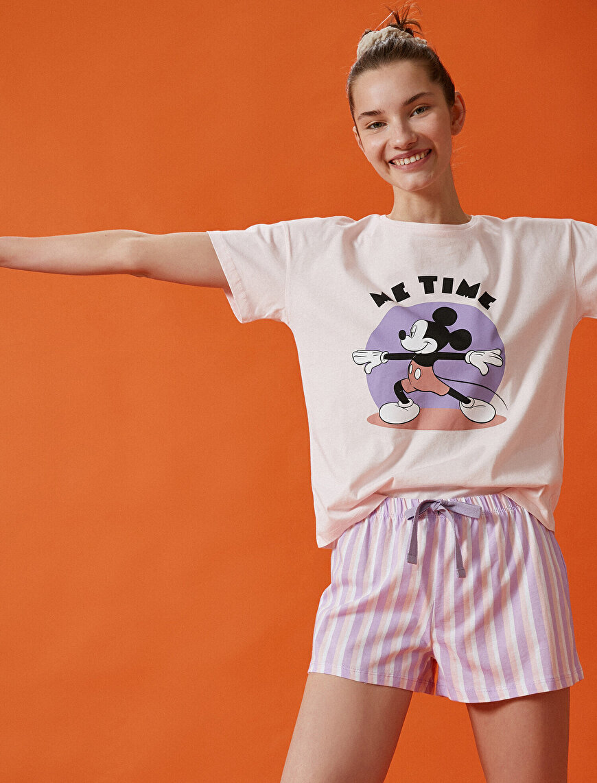 Mickey Mouse Pyjamas Set Cotton Disney Licensed