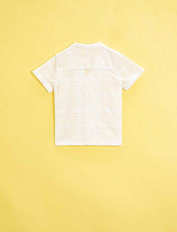 Kısa Kollu Gömlek Pamuklu