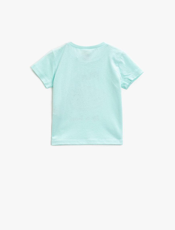 Printed T-Shirt Short Sleeve Cotton Crew Neck