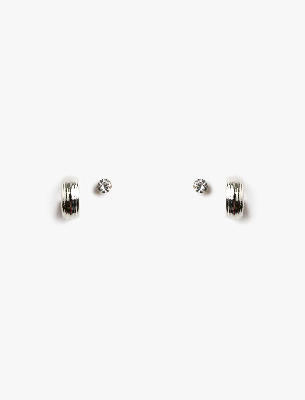 Metallic Earring Set