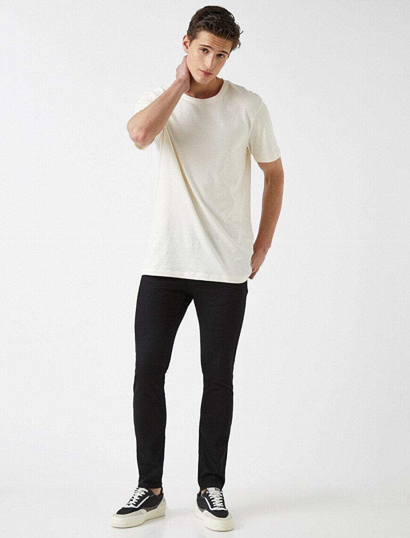 Skinny Fit Kot Pantolon - Michael Basic Jean
