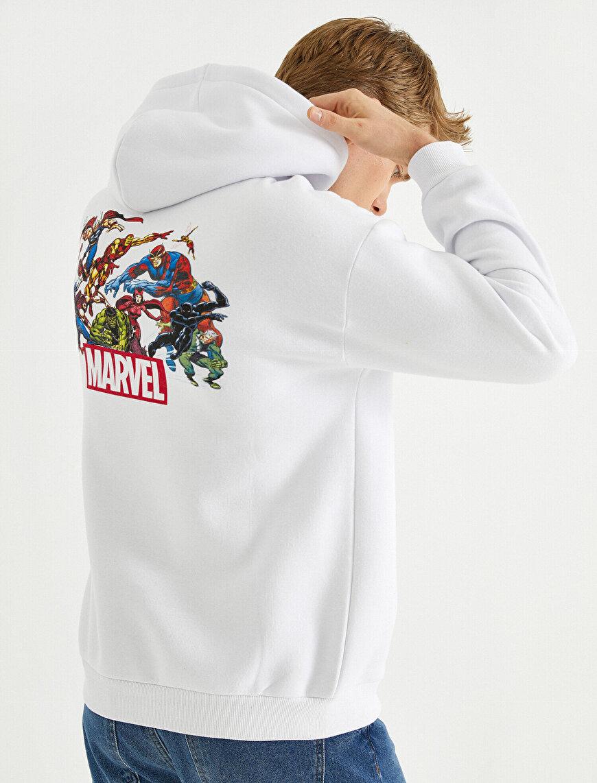 Marvel Oversize Sweatshirt Lisanslı Baskılı