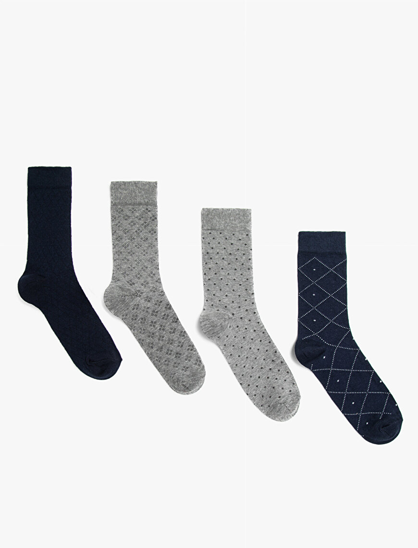 Erkek Desenli Çorap Seti