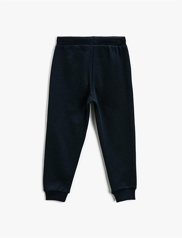 Printed Jogger Sweatpants Elastic Waist