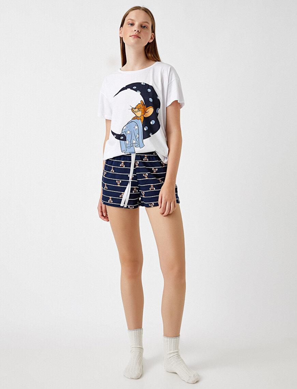 Warner Bros Lisanslı Şortlu Pijama Takımı Pamuklu