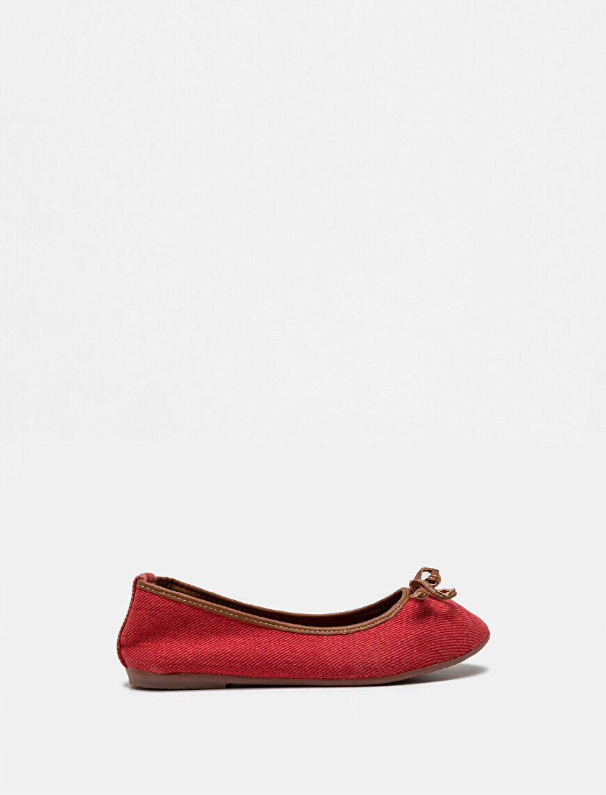 Bow Tied Ballet Flats