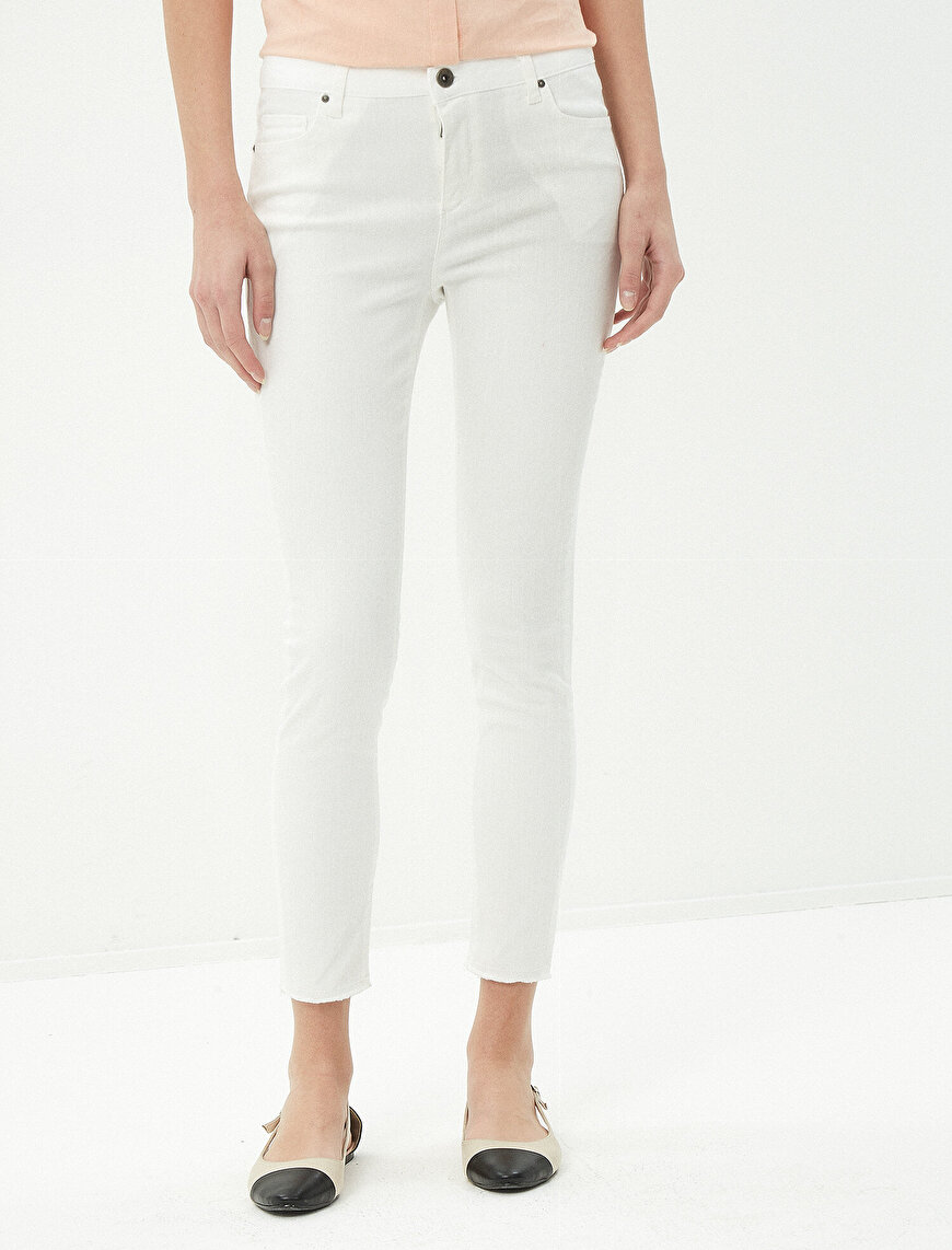 Slim Fİt Trousers