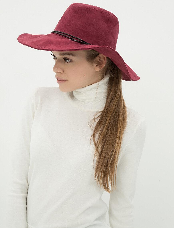 Fiyonk Detaylı Şapka