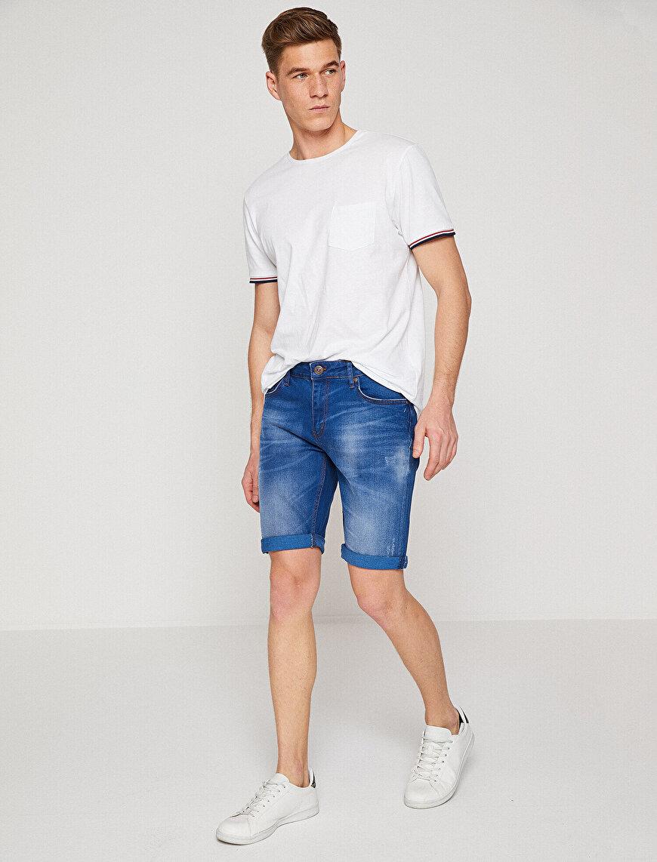 Normal Bel Jean Şort