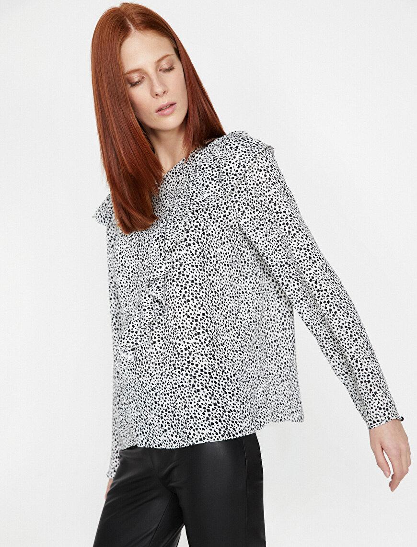 Leopard Patterned Blous