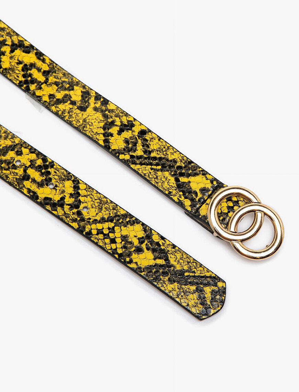 Snake Patterned Belt