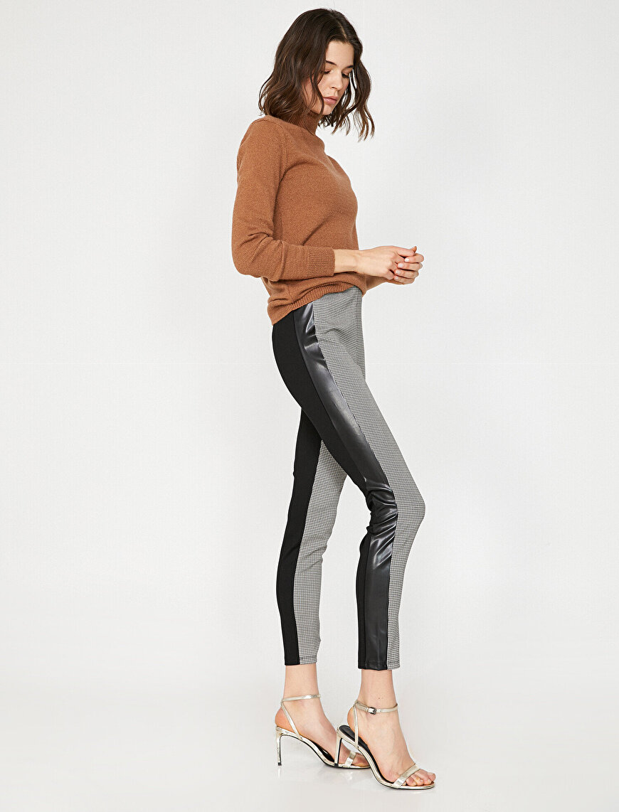 Banded Detailed Leggings