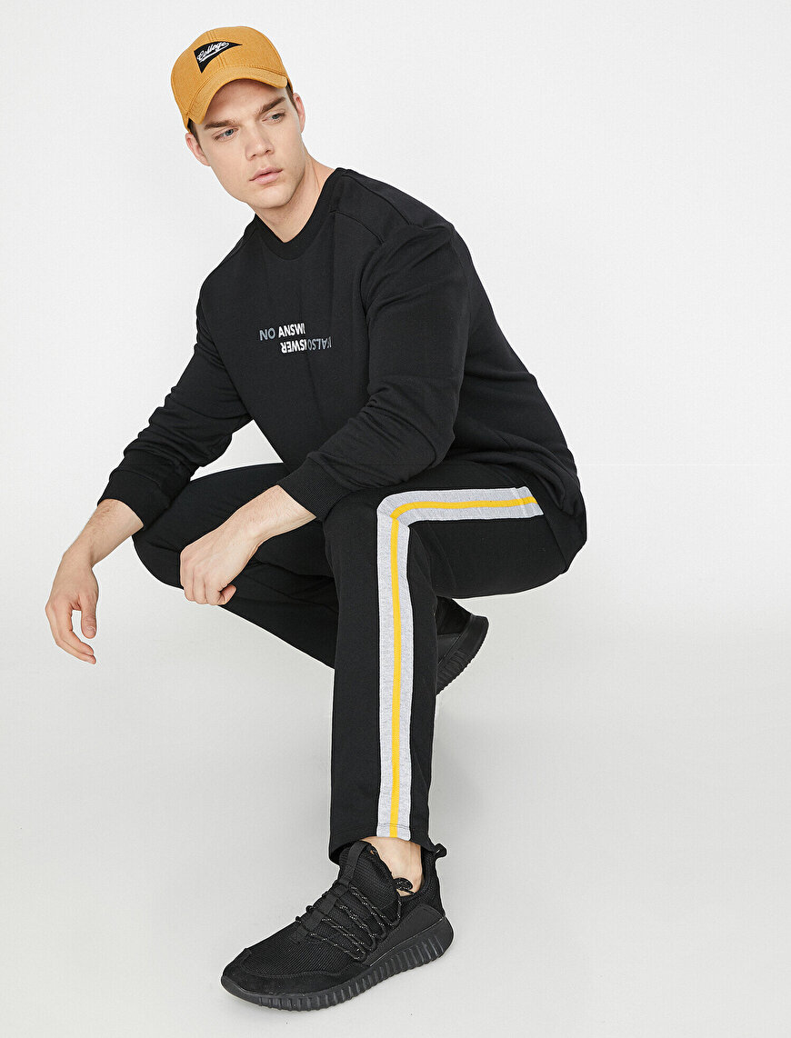 Banded Joggings Pants