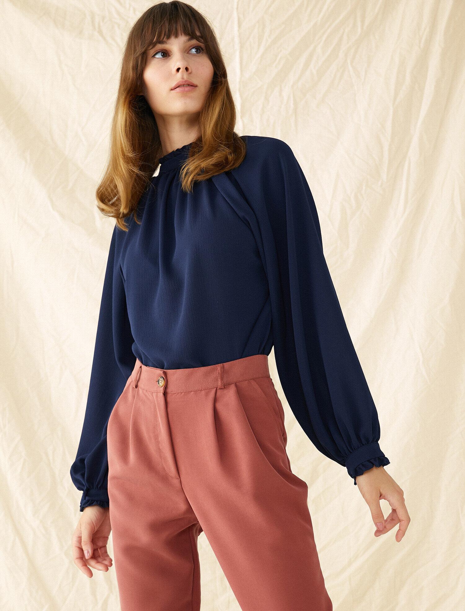 Koton Kadın Yüksek Yaka Bluz
