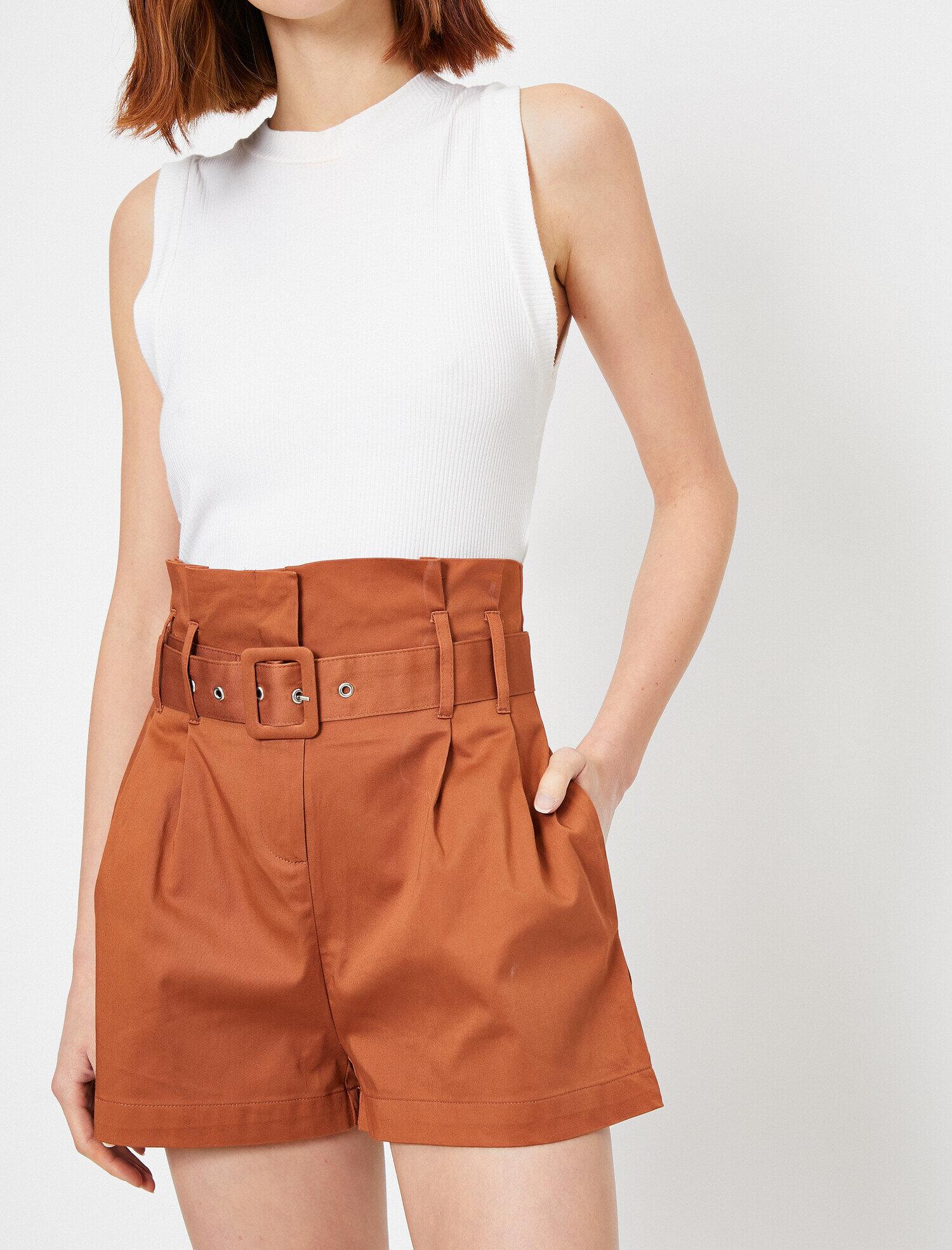 Koton Kadın Yüksek Bel Kemer Detayli Pantolon