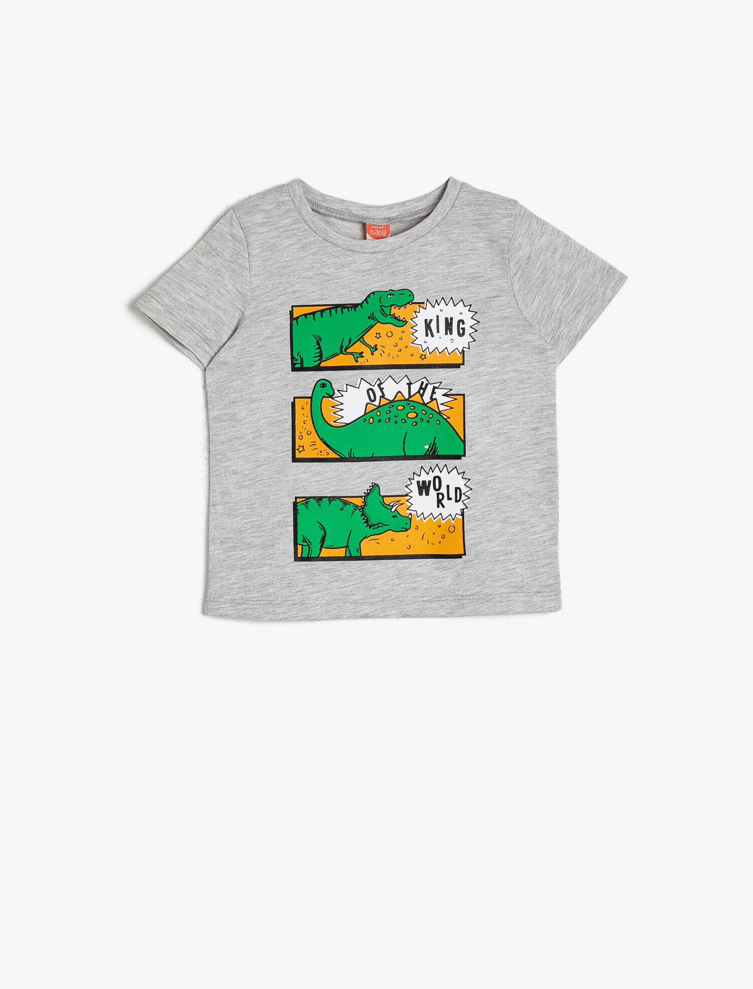 Koton Erkek Çocuk Baskili T-Shirt