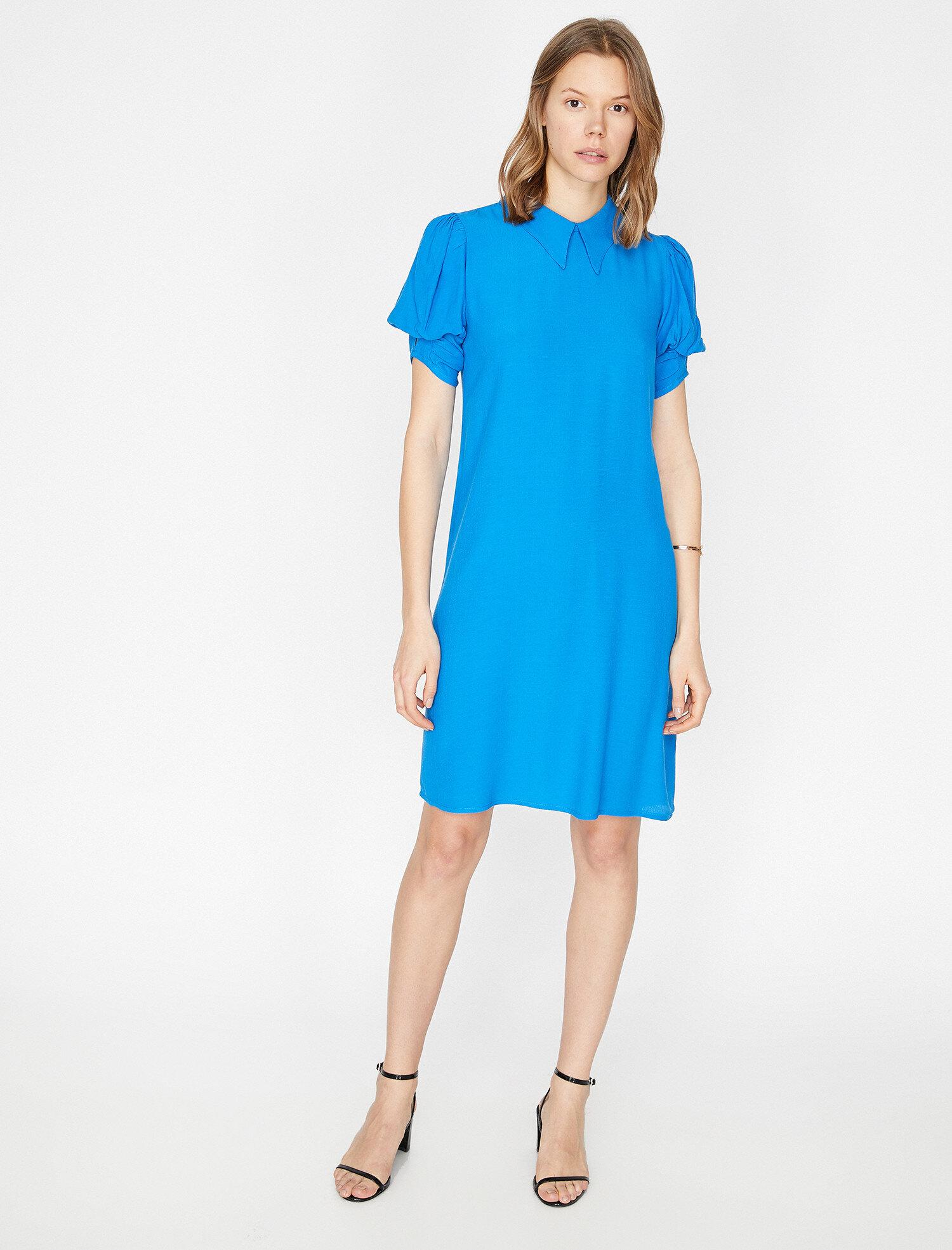 Koton Kadın Kol Detayli Elbise