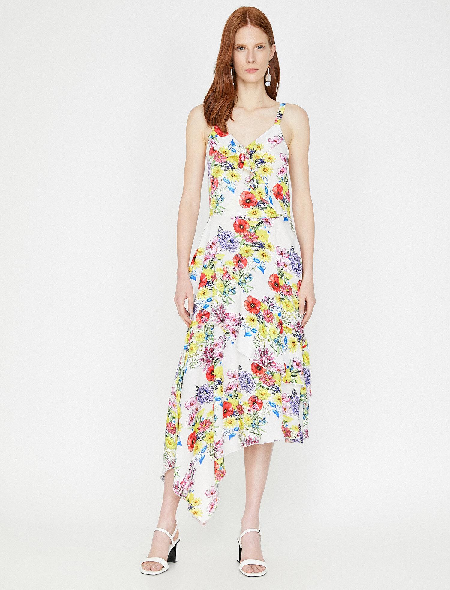 Koton Kadın Çiçekli Elbise