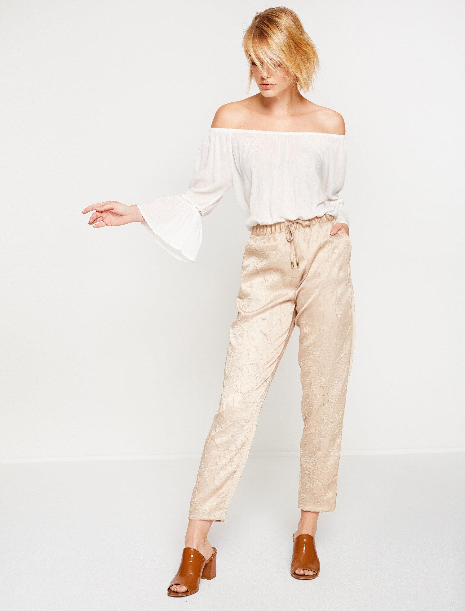 Koton Kadın Pantolon Sarı Ürün Resmi