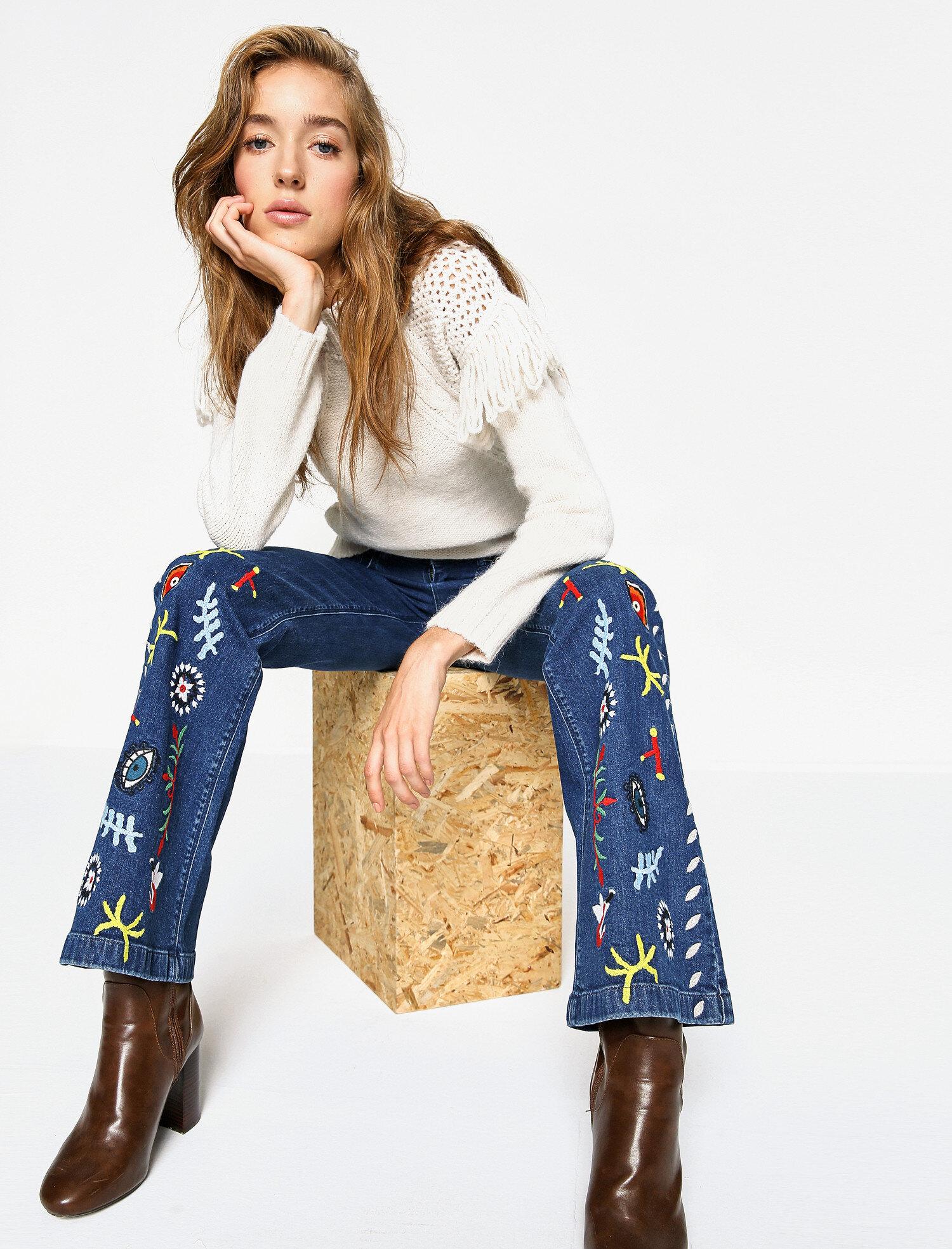Koton Kadın Fahriye Evcen For Koton Jeans Pantolon