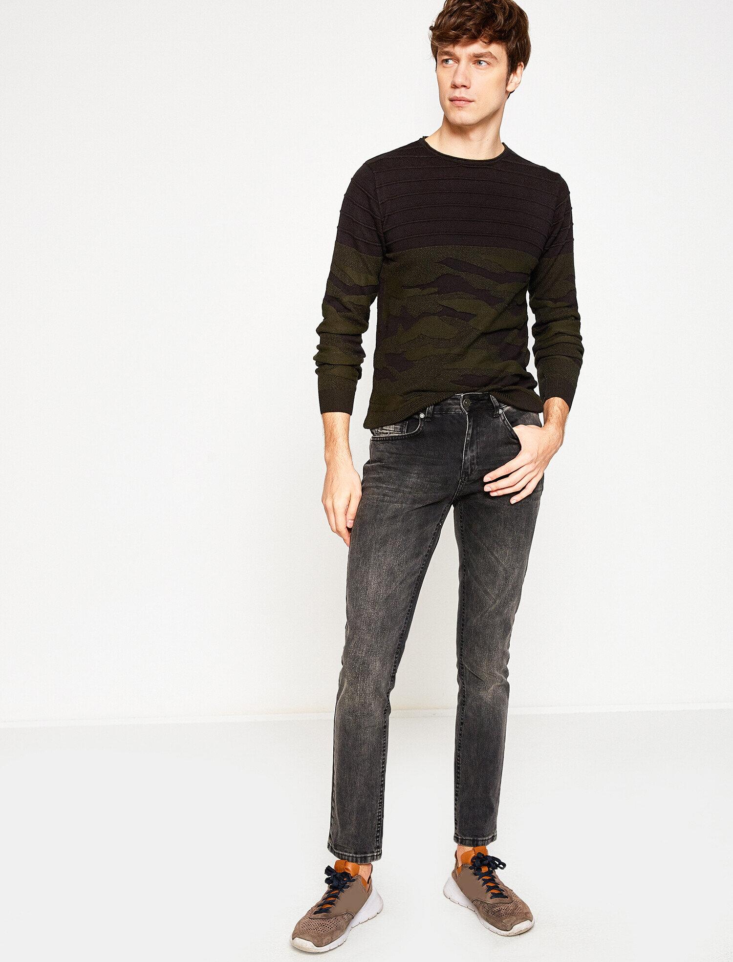 Koton Erkek Michael Jean Pantolon Siyah Ürün Resmi