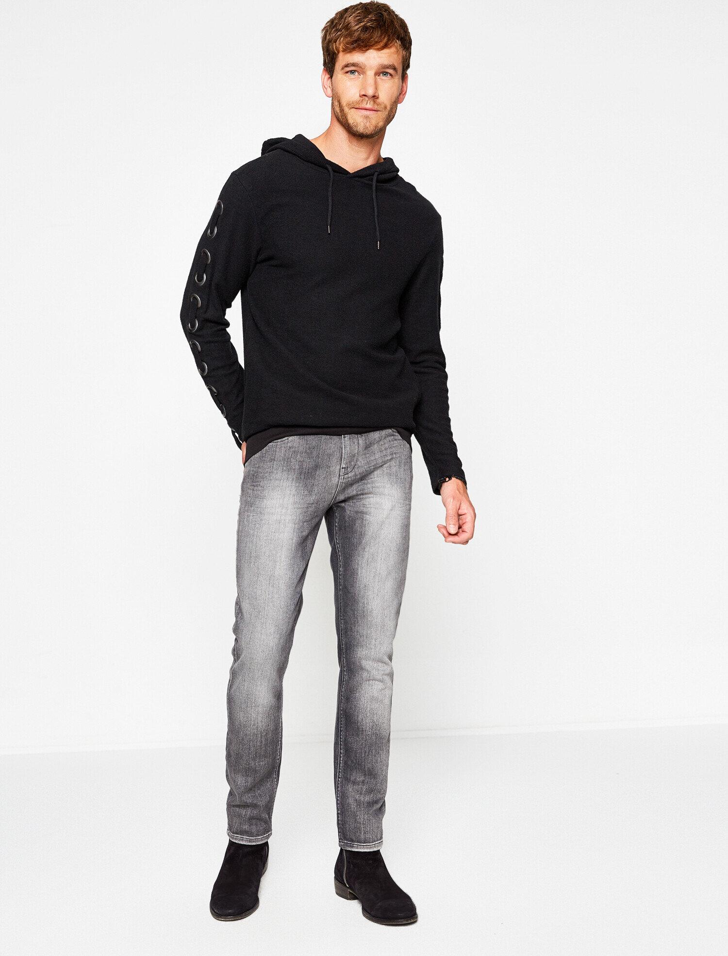Koton Erkek Can Bonomo + Koton Jeans Jean Pantolon Gri Ürün Resmi
