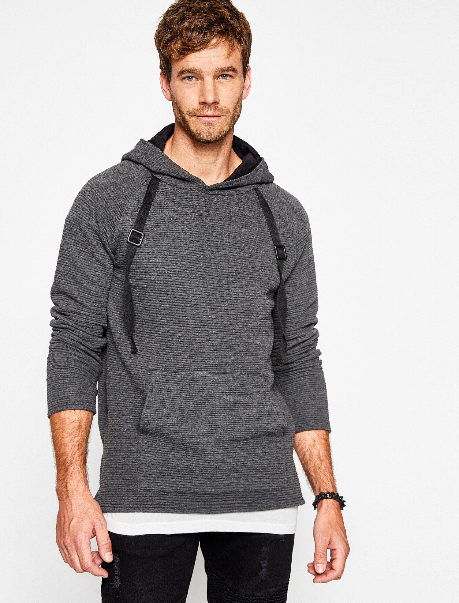 Koton Erkek Can Bonomo + Koton Jeans Kapüsonlu Sweatshirt