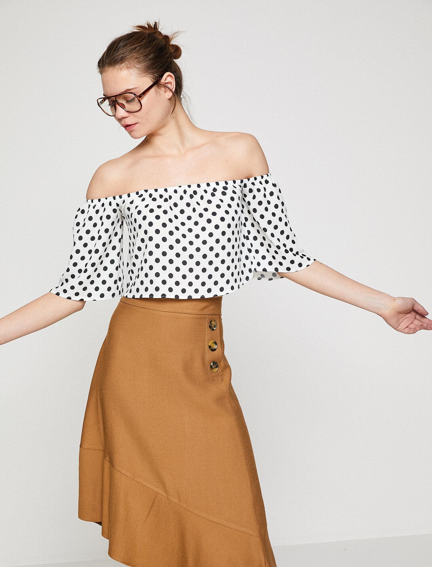 Koton Kadın Puantiyeli Bluz