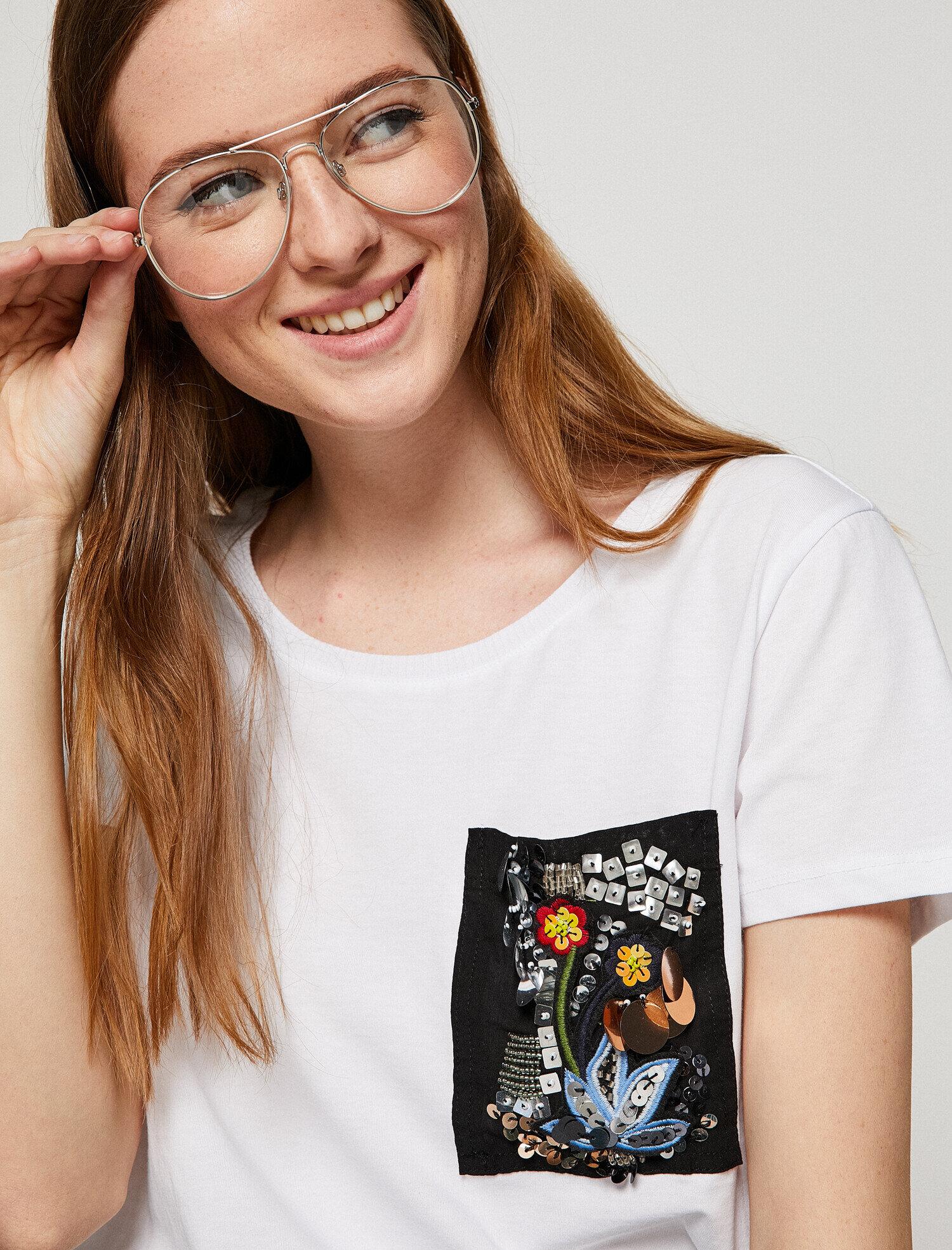 Koton Kadın Islemeli T-Shirt