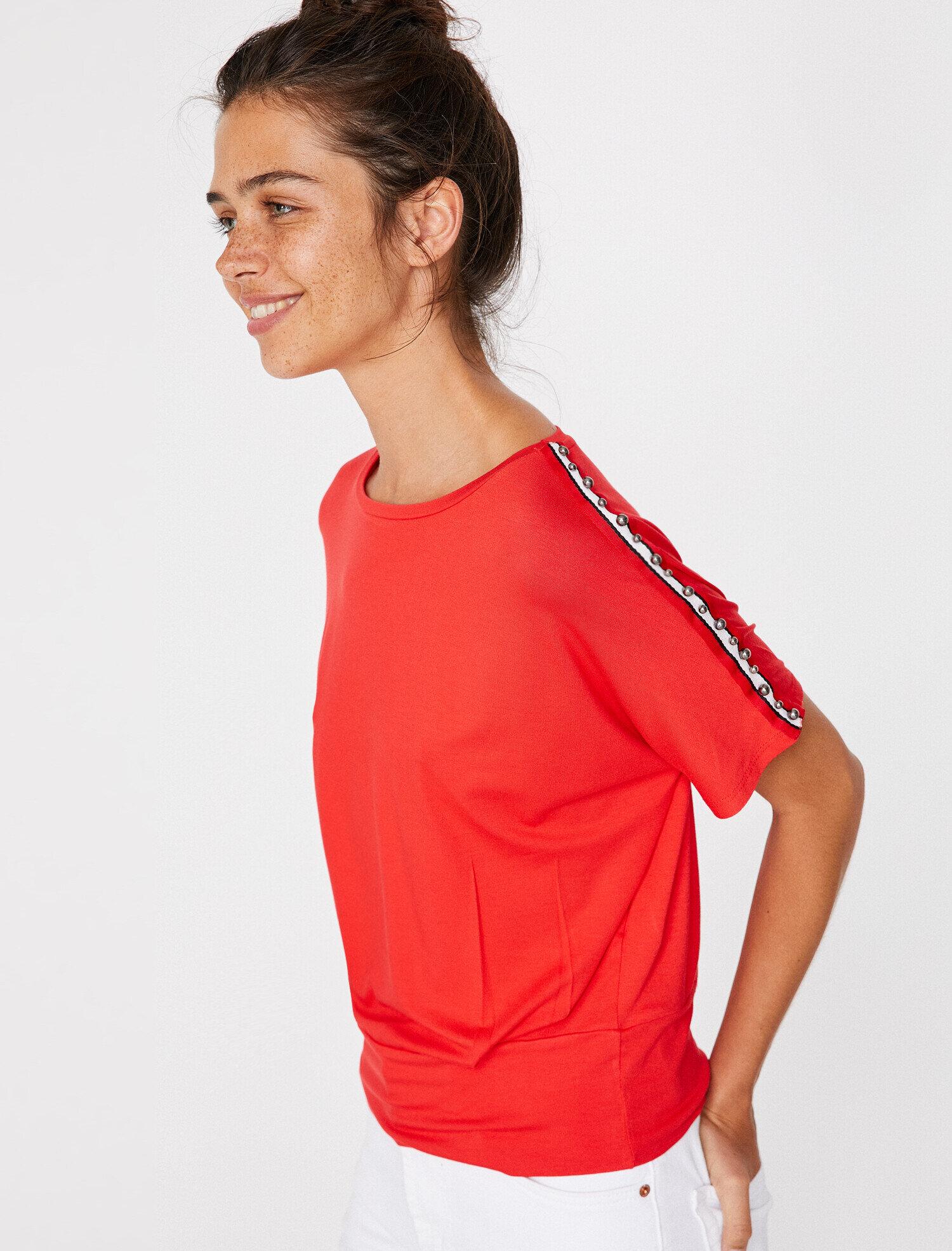 Koton Kadın Boncuk Detayli T-Shirt
