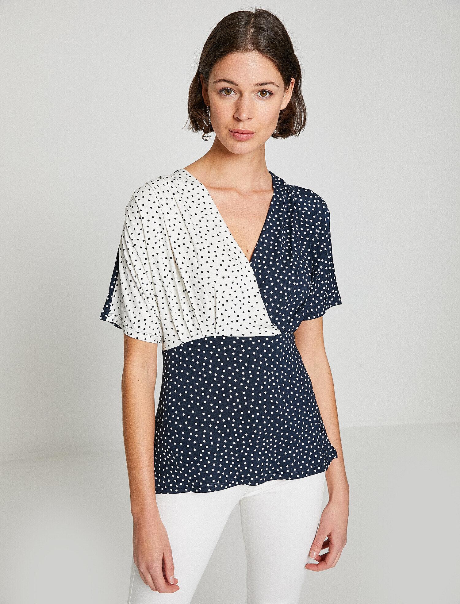 Koton Kadın Puantiyeli T-Shirt