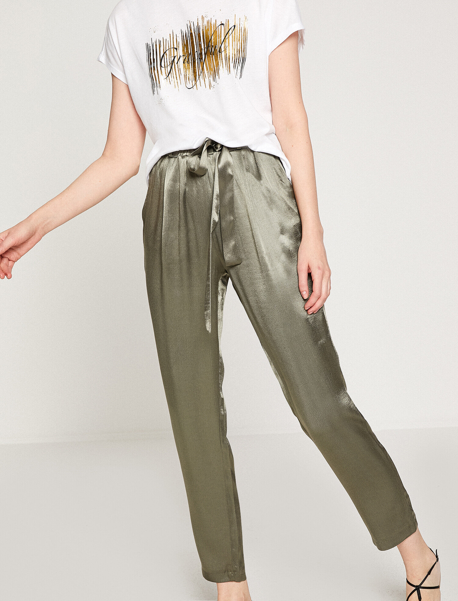 Koton Kadın Parlak Pantolon