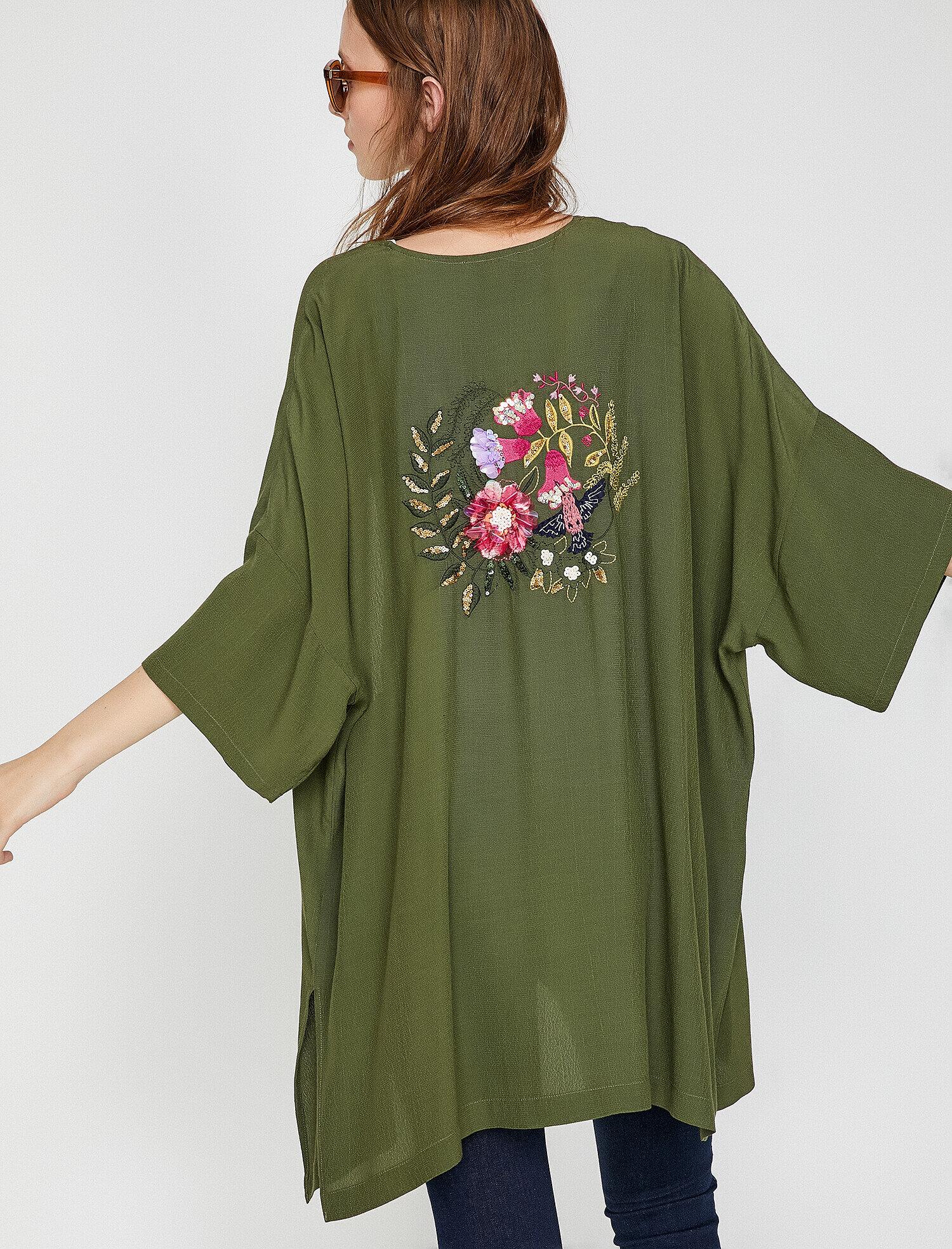 Koton Kadın Islemeli Kimono