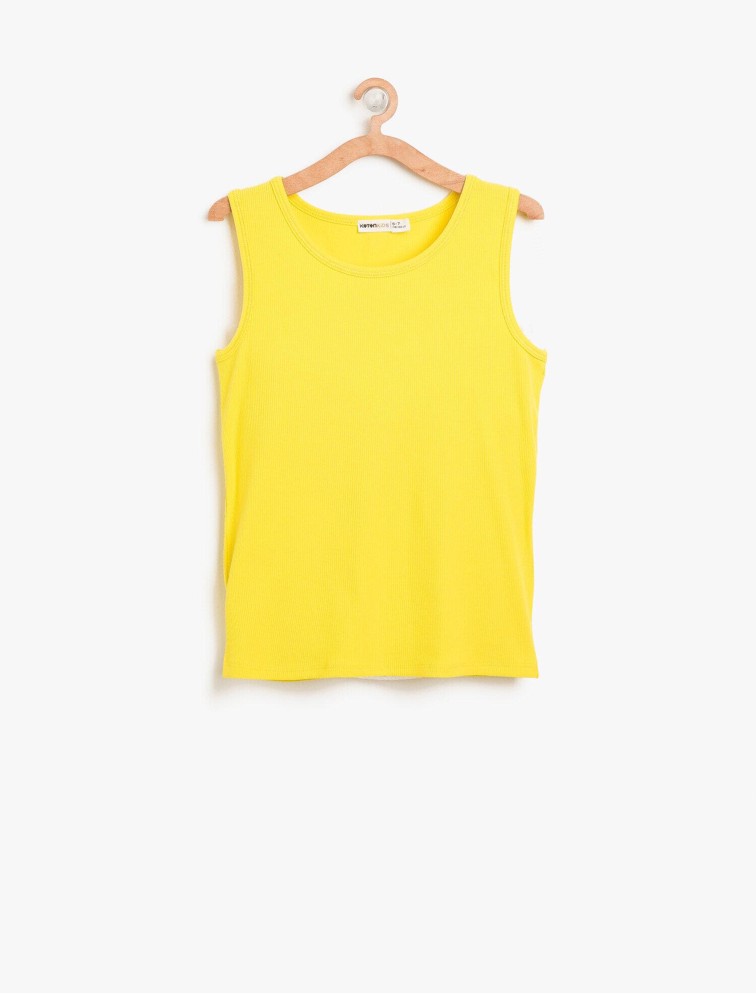 Koton Kız Çocuk Basic Atlet Sarı Ürün Resmi
