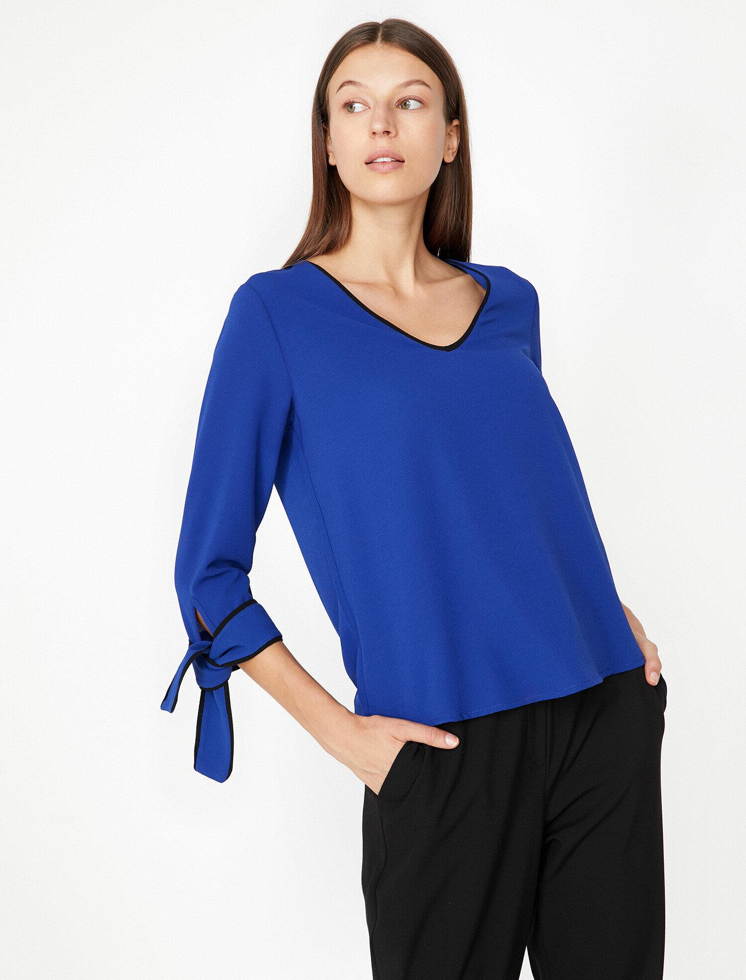 Koton  Kadın Kol Detayli Bluz