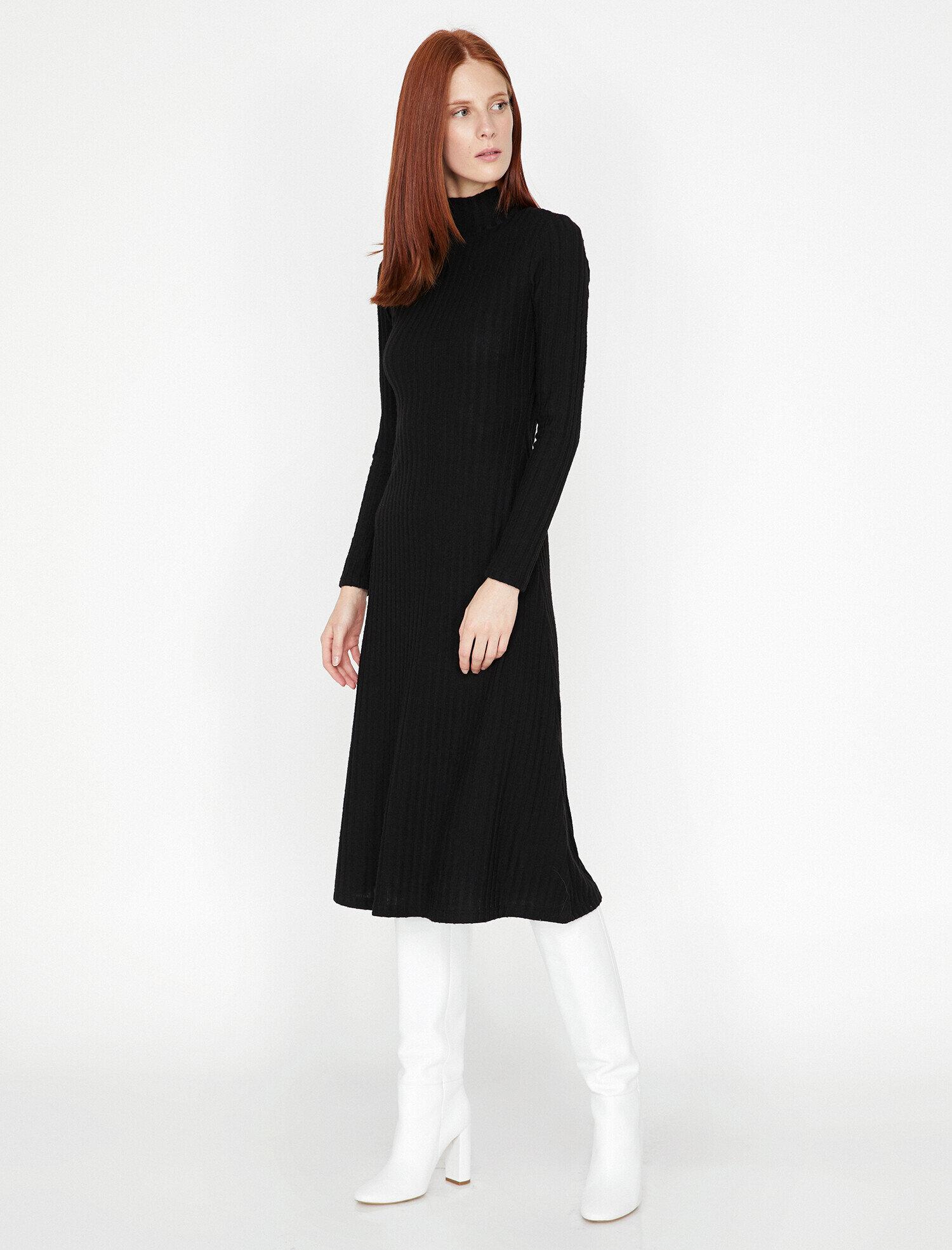 Koton Kadın Bogazli Elbise