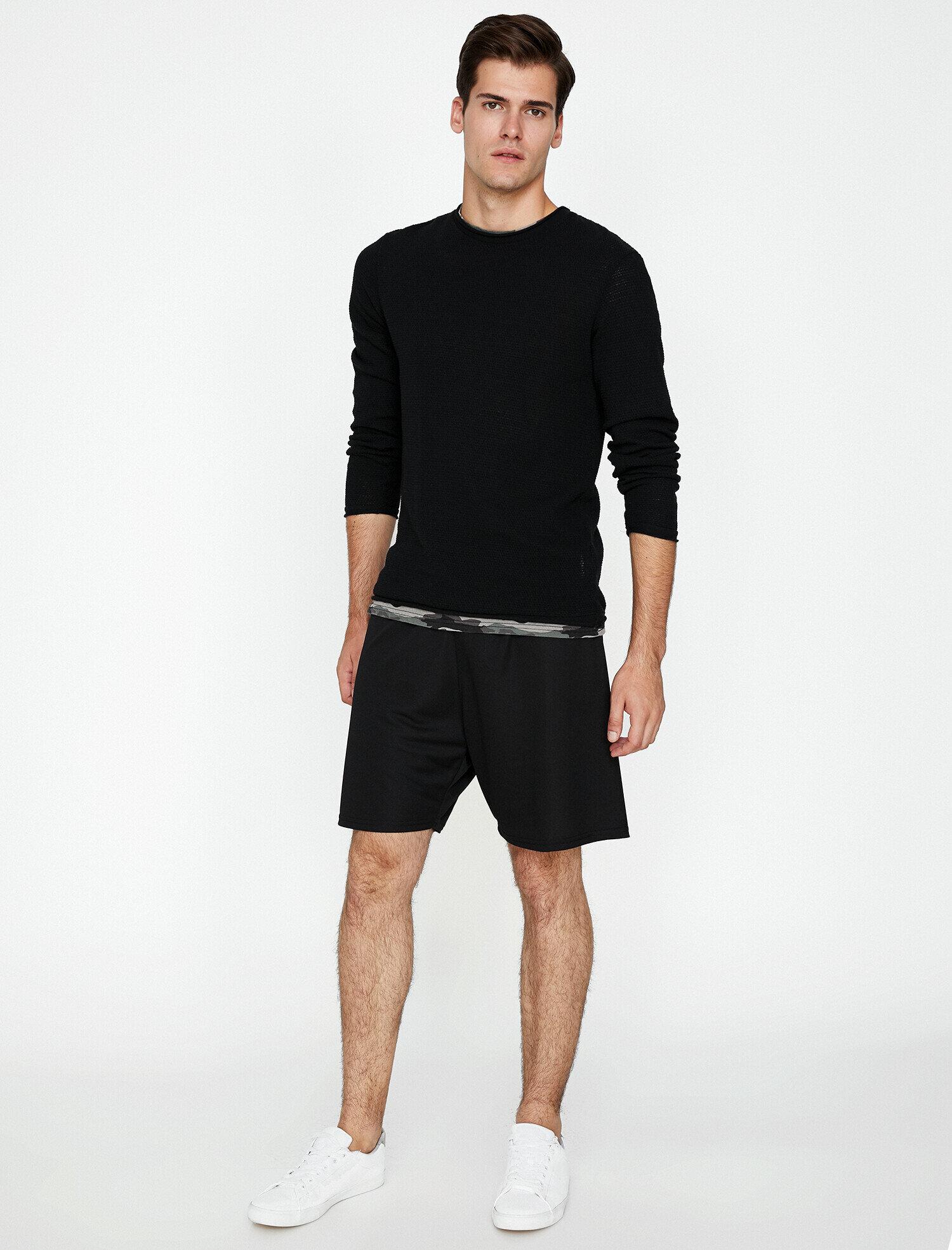 Koton Erkek Normal Bel Sort Siyah Ürün Resmi