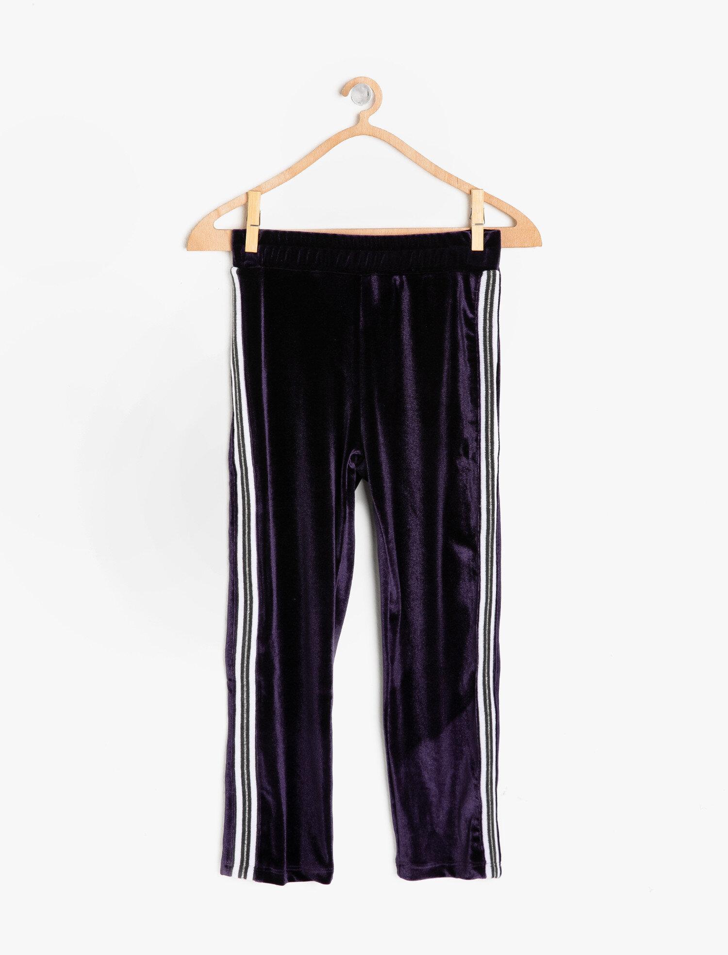 Koton Kız Çocuk Normal Bel Pantolon Mor Ürün Resmi