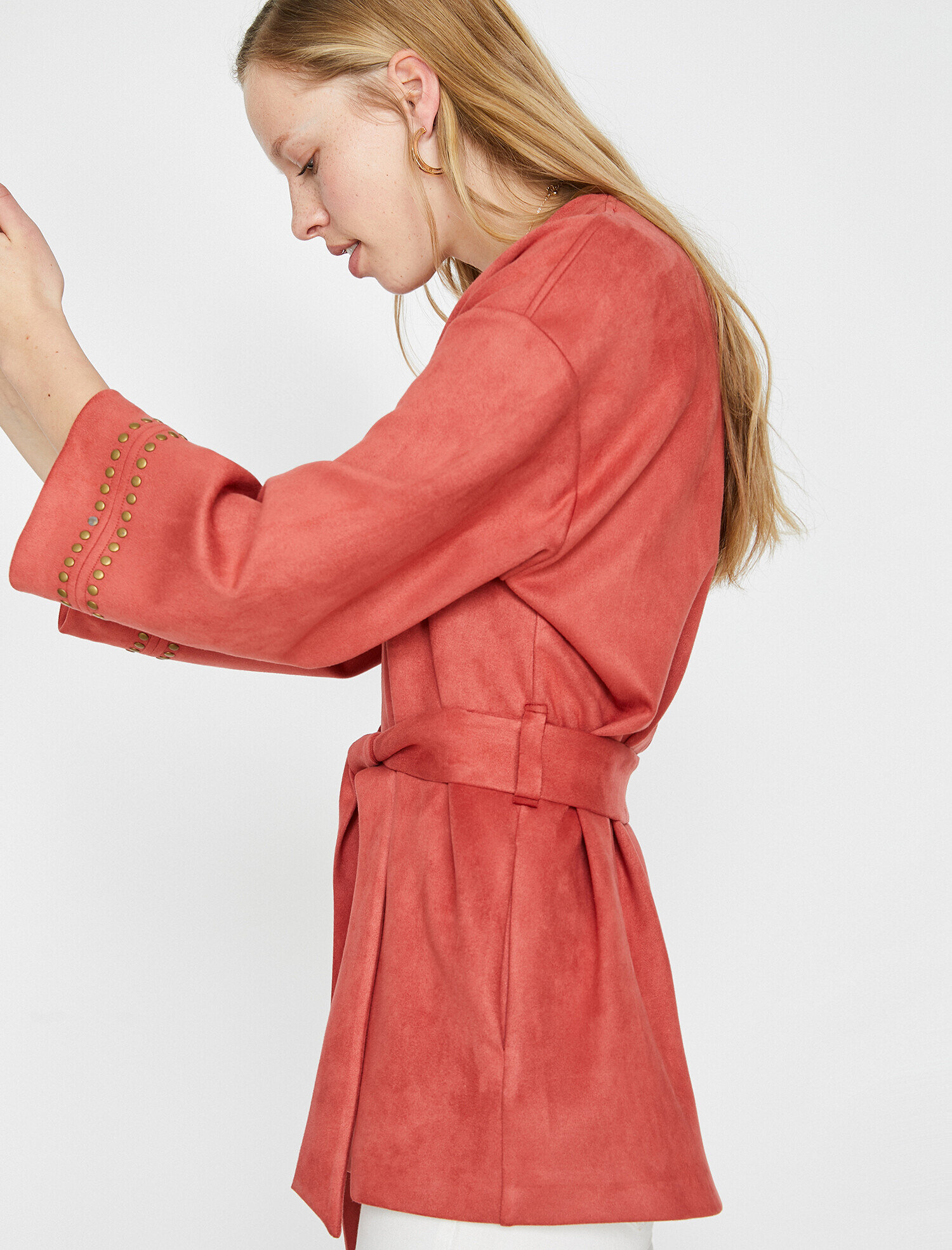 Koton Kadın Zimba Detayli Kimono