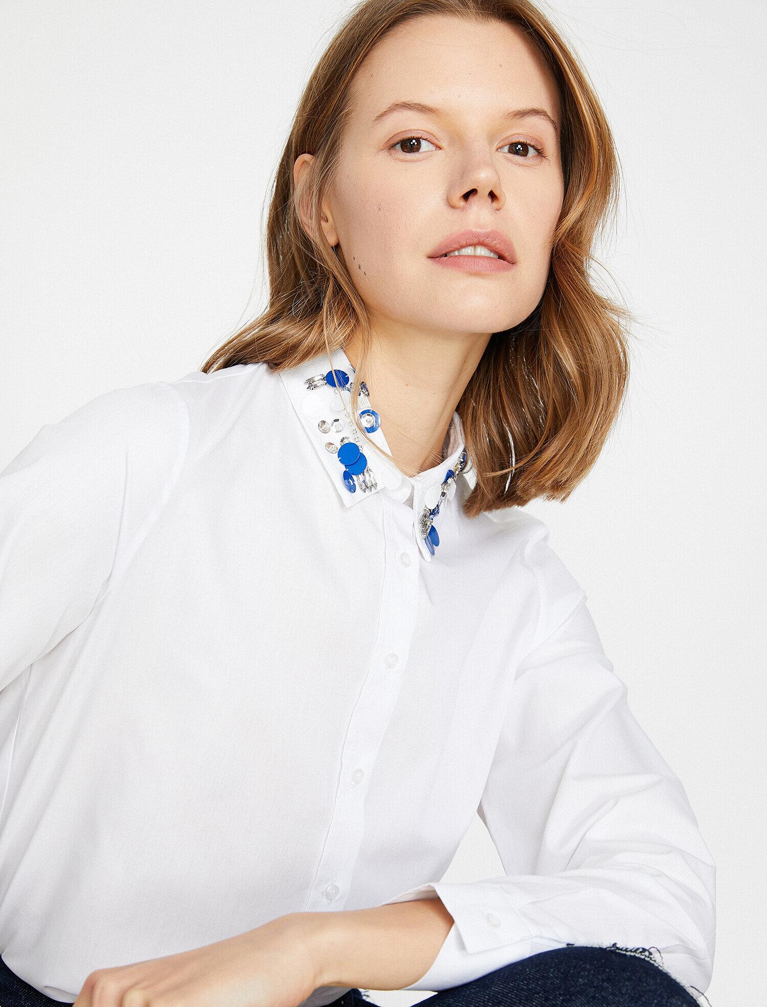 Koton Kadın Pul Detayli Gömlek