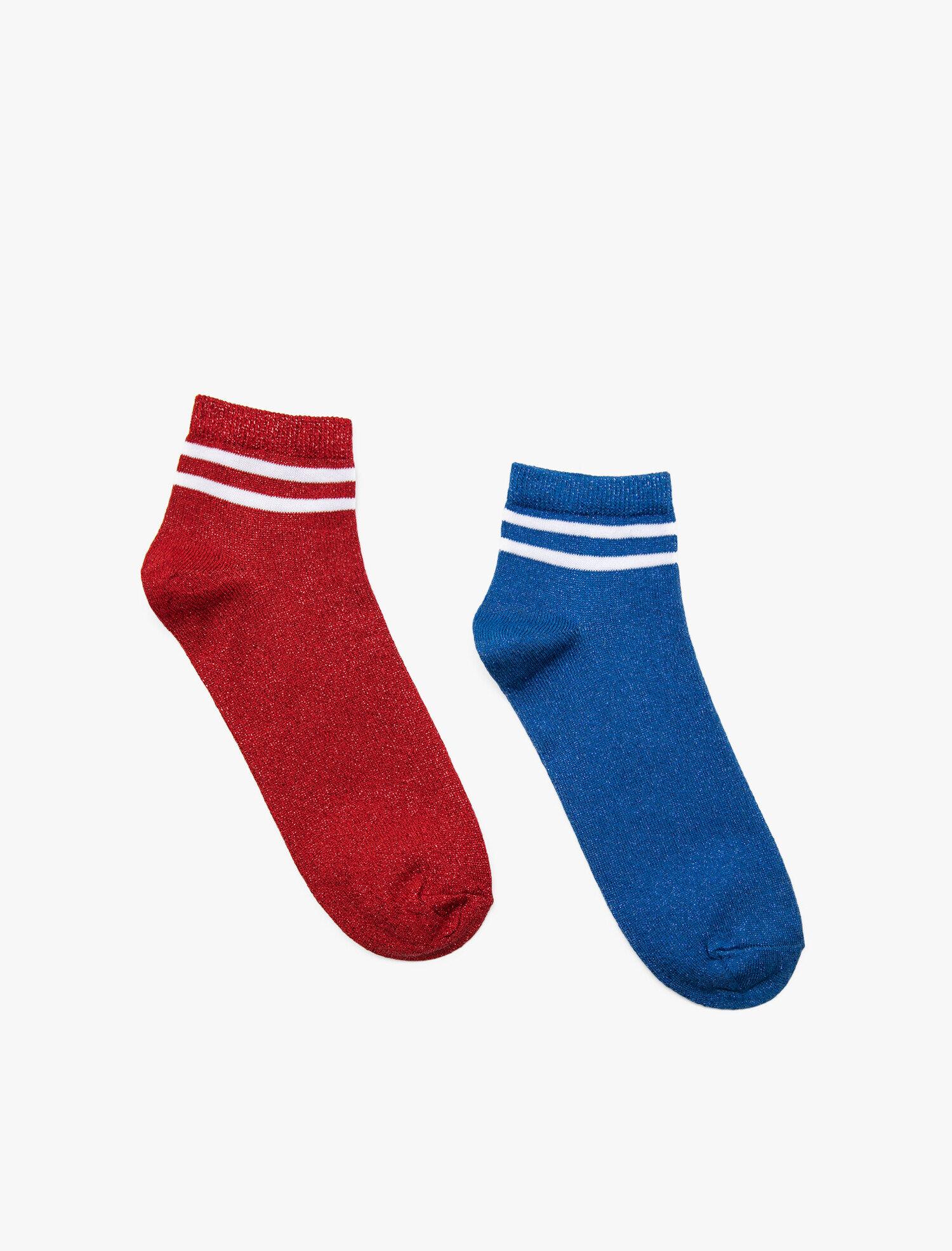 Koton Kadın Kadin 2 li Çorap Mavi Ürün Resmi